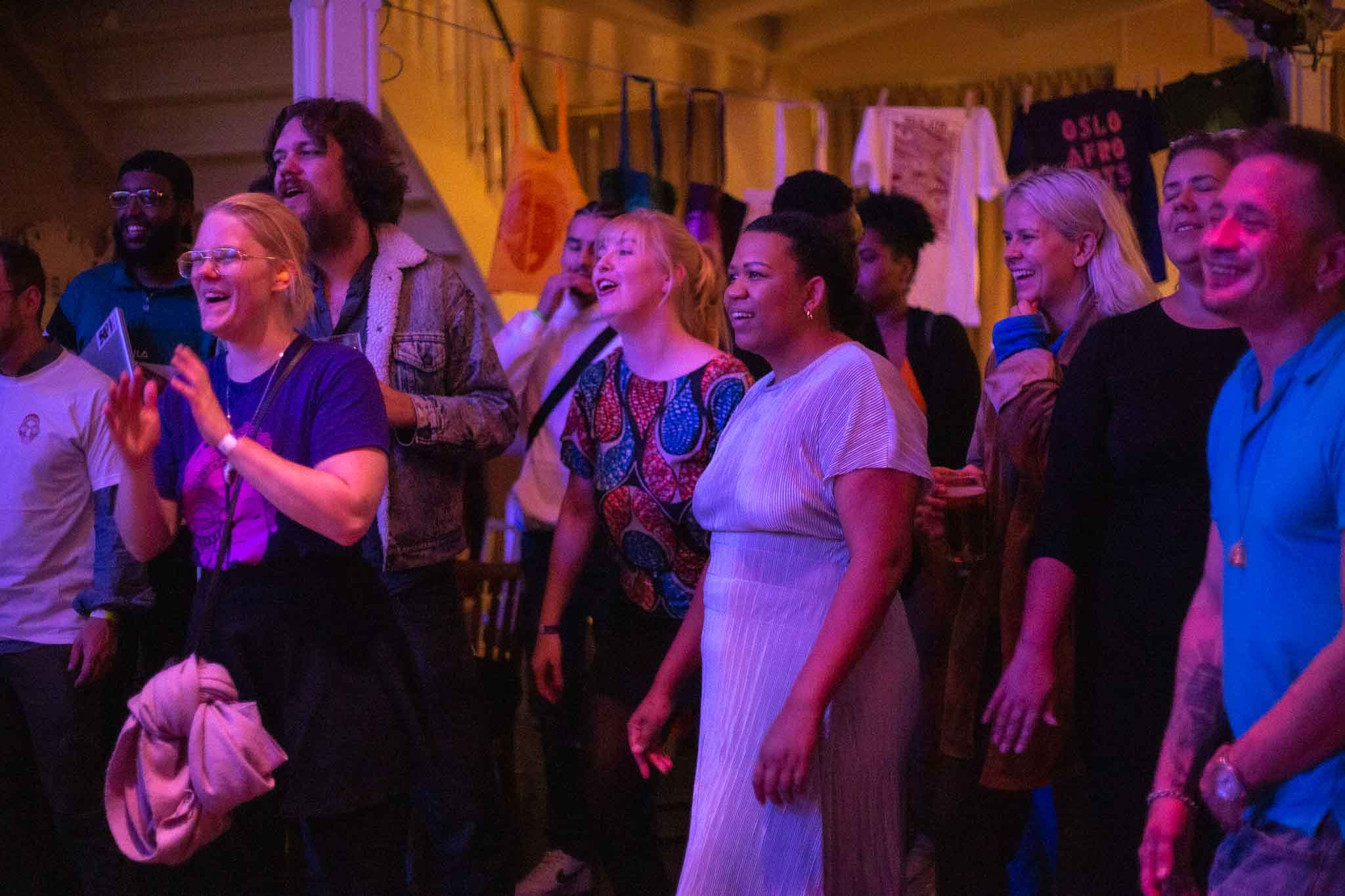 Oslo Afro Arts visitors 2019