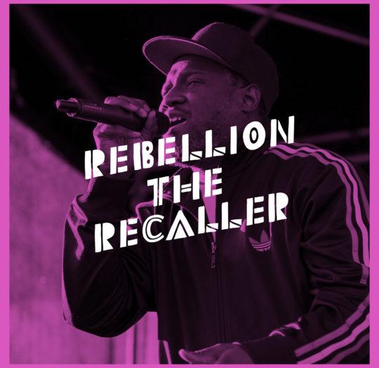 Rebellion the Recaller Oslo Afro Arts 2019